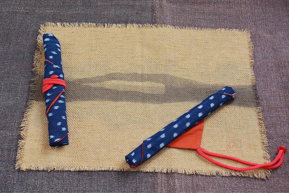 箸の包み方4