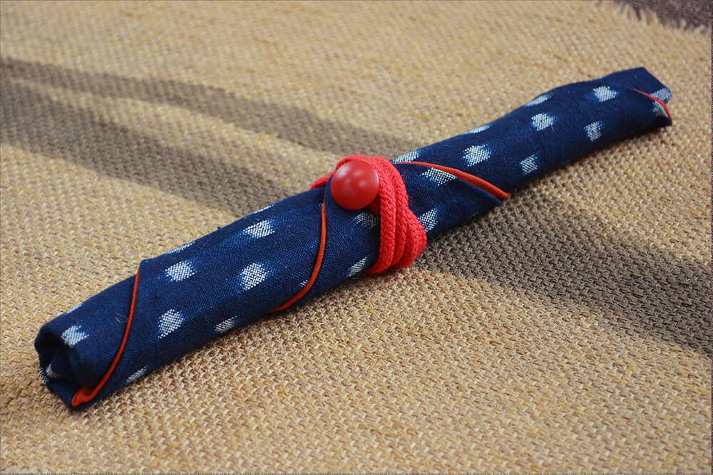 箸の包み方6
